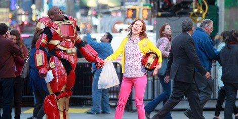 The Unbreakable Kimmy Schmidt how happy a Happy City can be.  Photo by Steve Sands/GC Images