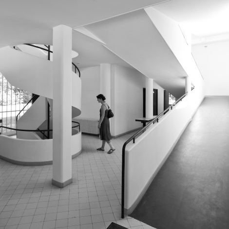 Villa Savoye Interior. Photo by Dave Morris (Flickr)