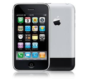 First Generation iPhone. Launched 2007.